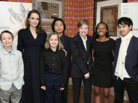 Angelina Jolie says her children are 'helping each other out' at home during pandemic