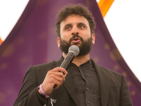 Nish Kumar booed and refuses to leave the stage as 'Brexit joke' throws performance into chaos