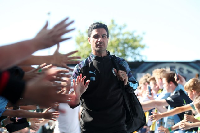 Mikel Arteta is expected to take over at Arsenal