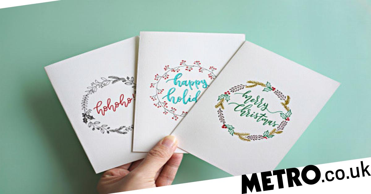 When Was The First Christmas Card Sent And Who By Metro News