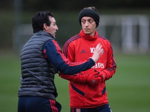 Unai Emery finally details why he had to drop Mesut Ozil from Arsenal team