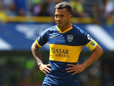 Carlos Tevez names former Man Utd team-mate as 'one of the best players I've seen'