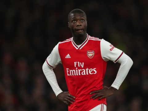 Arsenal star Nicolas Pepe blasted for worst warm-up of all time by Clive Tyldesley & Alan Shearer