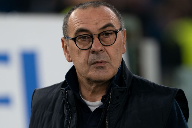 Maurizio Sarri believes Manchester City are favourites to life the Champions League trophy
