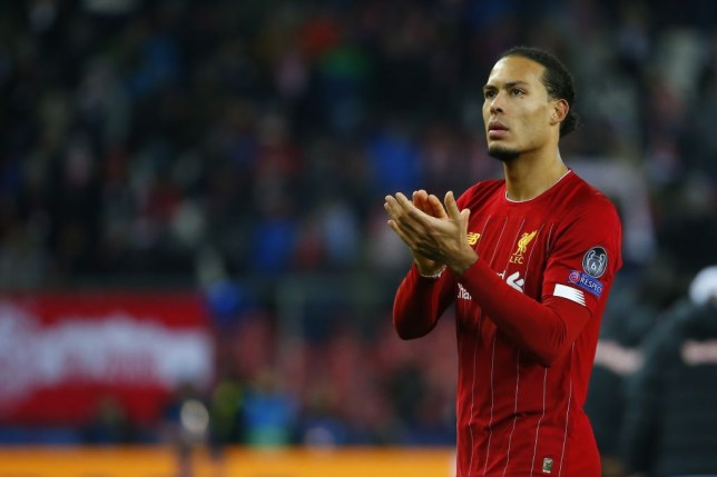 Virgil van Dijk produced a dominant display as Liverpool beat Salzburg to reach the Champions League last-16