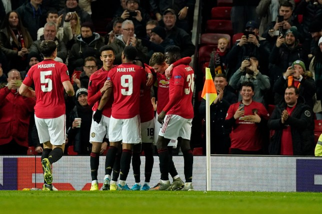 Manchester United came to life in the second half against AZ Alkmaar