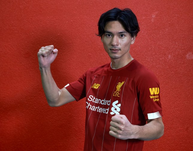 Liverpool have signed Japan international Takumi Minamino