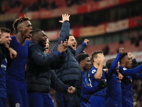 What Frank Lampard told Chelsea stars at half-time to inspire Arsenal comeback win