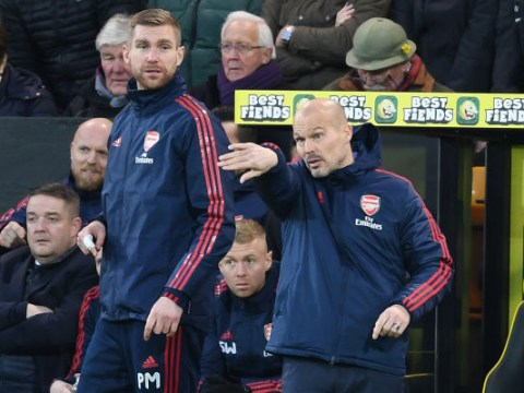 Bernd Leno reveals what Freddie Ljungberg said in Arsenal dressing room after Norwich draw