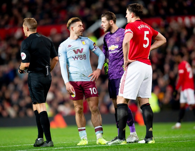 Jack Grealish fuels Man Utd transfer rumours with Old Trafford ...