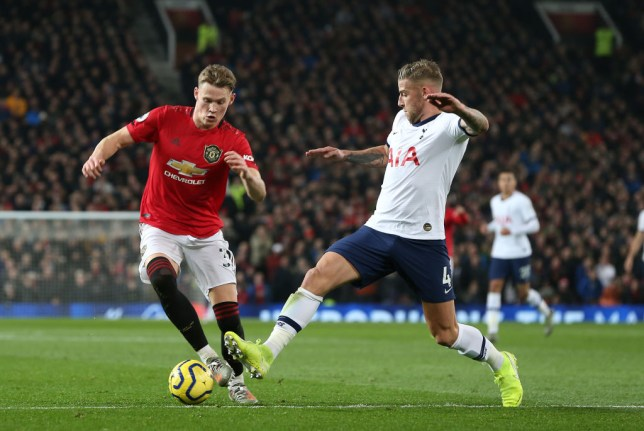 Scott McTominay impressed on his Manchester United return