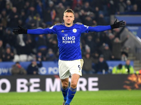 Positive injury latest on Jamie Vardy from Leicester City manager Brendan Rodgers