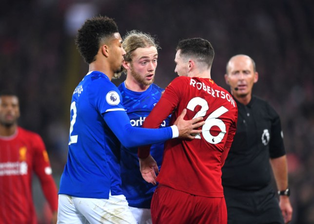 Andy Robertson and Tom Davies