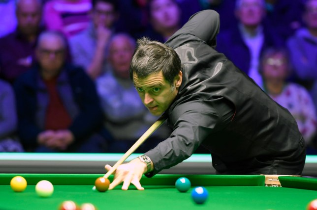 Ronnie O'Sullivan says he can play till he's 55 after thrashing James Cahill at Scottish Open
