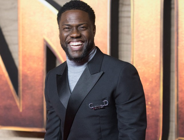 Kevin Hart Jumanji: The Next Level UK Premiere
