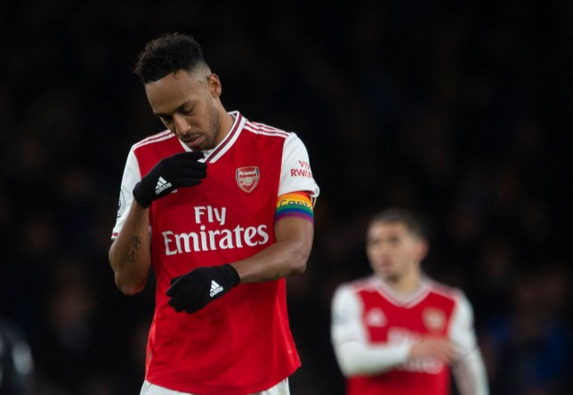 Pierre-Emerick Aubameyang 'totally out of order' for berating Joe Willock during Brighton defeat, says Tony Cascarino