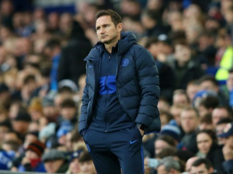 Frank Lampard blasts 'sloppy' Chelsea stars after Everton loss