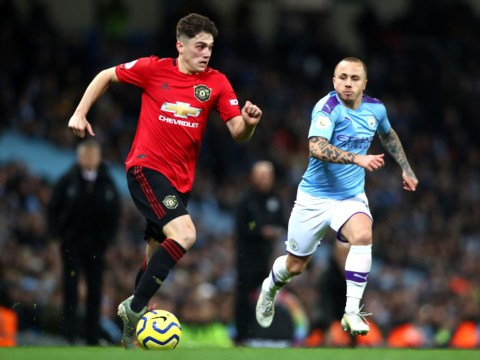 Peter Schmeichel singles out 'unbelievable' Daniel James after Manchester United beat Manchester City