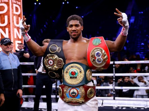 Anthony Joshua details the health issue that cost him the first Andy Ruiz fight