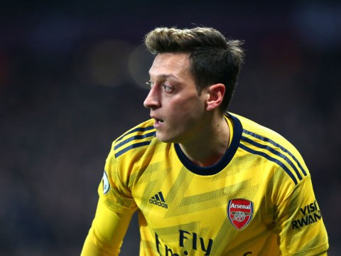 Mesut Ozil reacts to Arsenal ending two-month wait for a win and praises Freddie Ljungberg