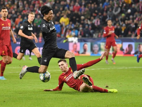 Andy Robertson explains why it was so difficult to play against Liverpool new boy Takumi Minamino