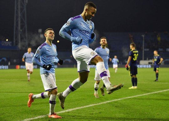 City swept aside Group C opponents Dinamo Zagreb on Wednesday