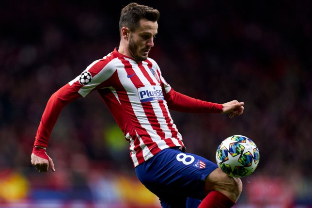 Saul Niguez has been with Atletico Madrid for all his senior career