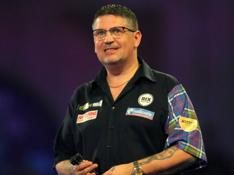 Gary Anderson crashes out as Michael van Gerwen and Gerwyn Price roar on at PDC World Darts Championship
