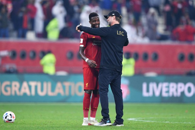 Divock Origi was praised by Jurgen Klopp following Liverpool's win