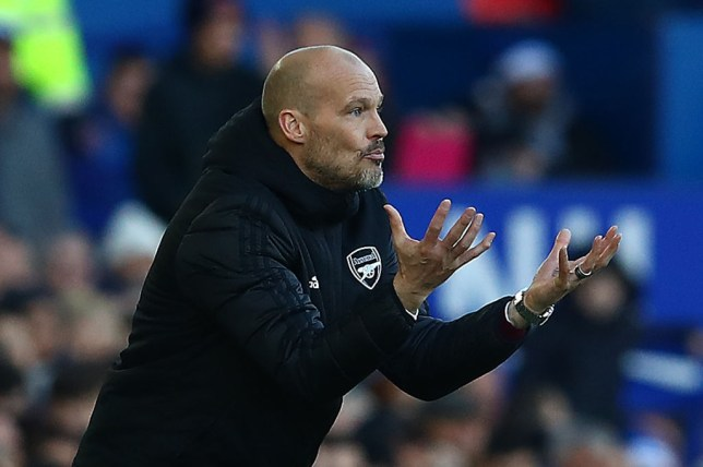Freddie Ljungberg axed Mesut Ozil from the Arsenal squad which travelled to Everton last weekend