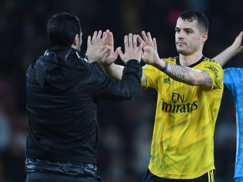 What Mikel Arteta has told Granit Xhaka about his Arsenal future