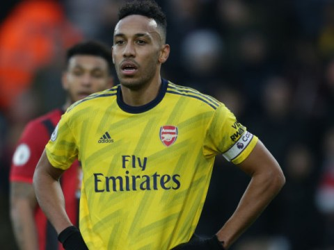 Arsenal won't sanction Pierre-Emerick Aubameyang transfer in January