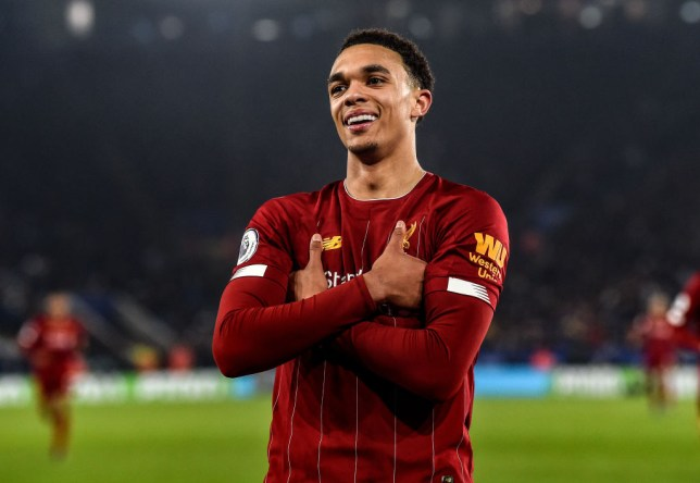 Trent Alexander-Arnold produced a sensational performance for Liverpool in their 4-0 win over Leicester