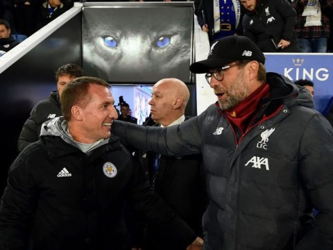 Brendan Rodgers sends Premier League title warning to Jurgen Klopp after Liverpool smash Leicester City