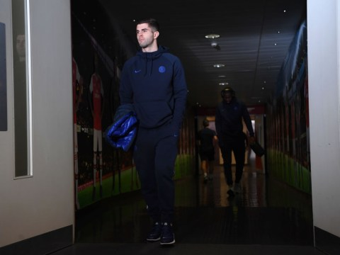 Christian Pulisic plays down reports he was injured for Chelsea's clash with Arsenal
