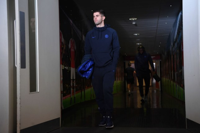 Chelsea star Christian Pulisic gives injury update