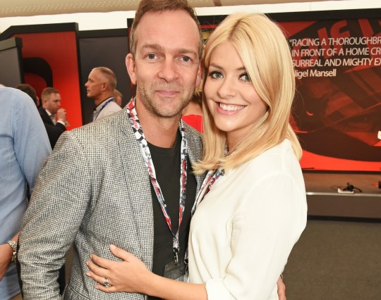Holly Willoughby and Dan