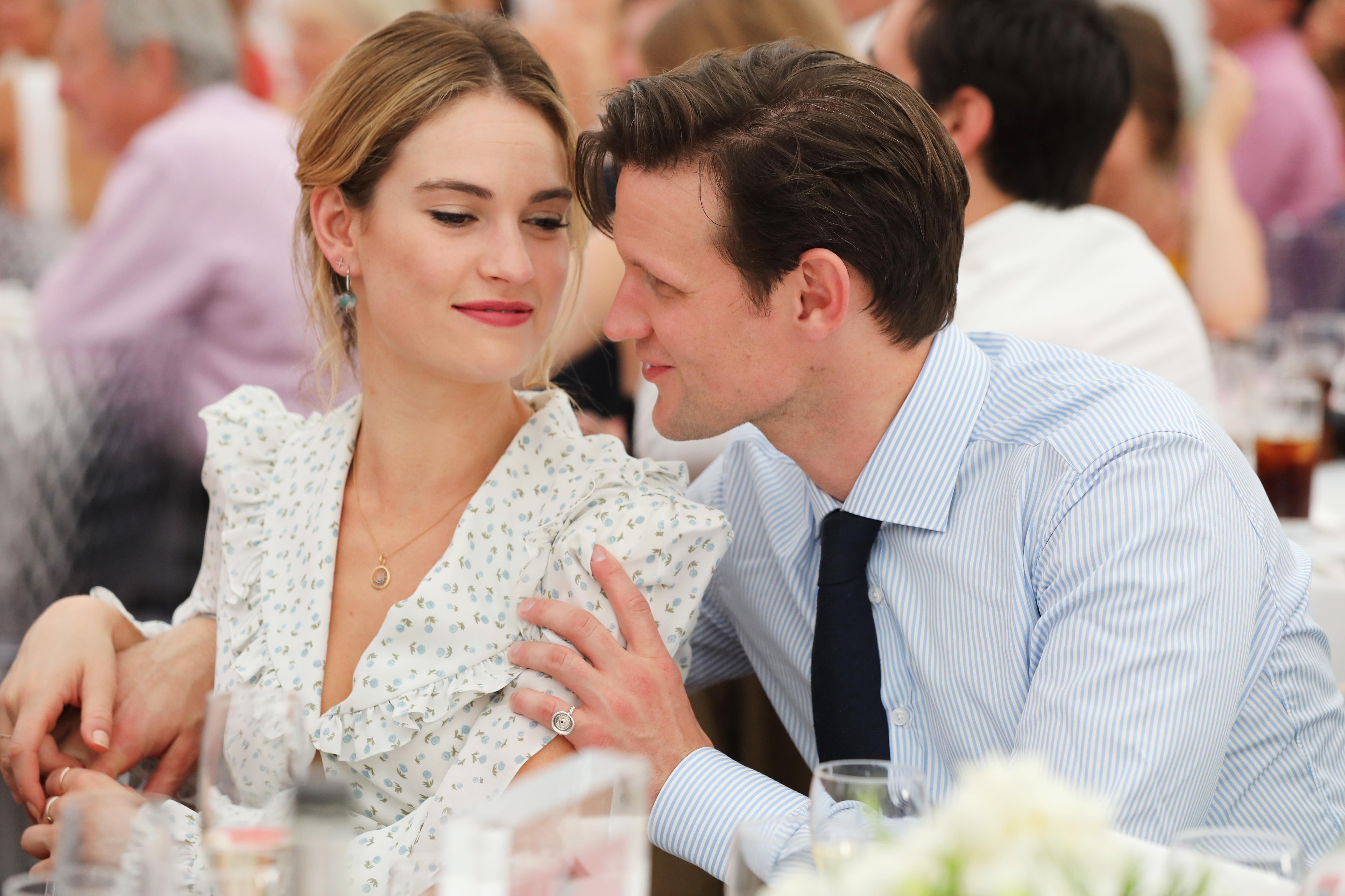 Lily och Jamie dating