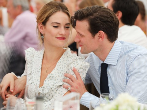 Lily James and Matt Smith 'still living together' following 'split' after five years