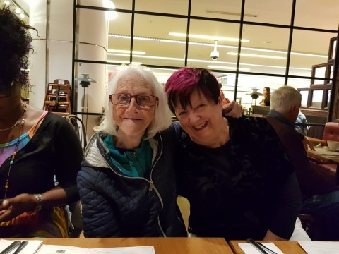 Elderly woman reunited with long-lost family thanks to community Christmas dinner