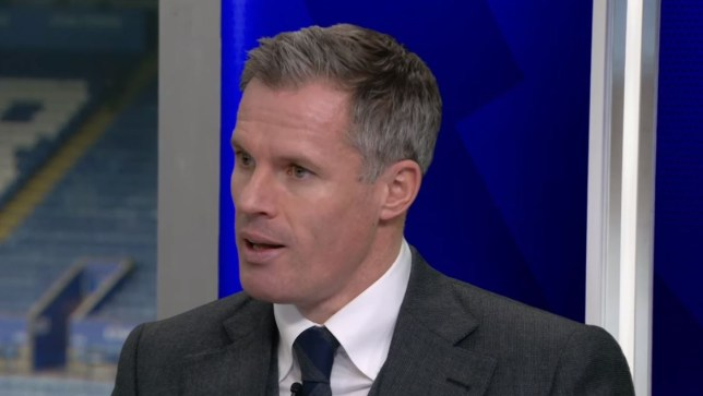 Jamie Carragher has warned Brendan Rodgers about taking the Arsenal job