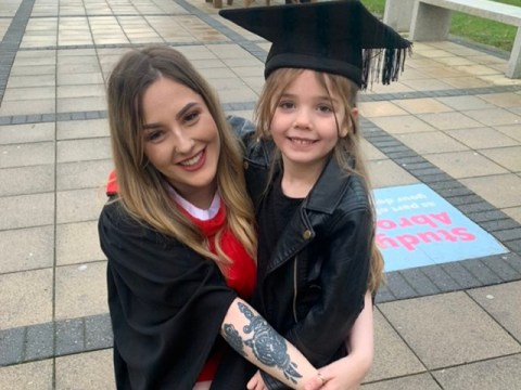 Mum who was forced to leave school at just 15 to have a baby graduates from university