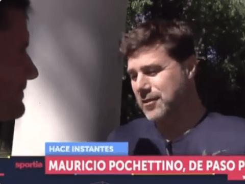 Former Tottenham boss Mauricio Pochettino responds directly to Arsenal rumours
