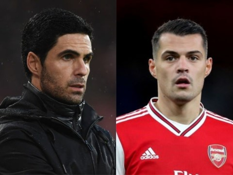Granit Xhaka 'angry' with Mikel Arteta after talks over Arsenal exit