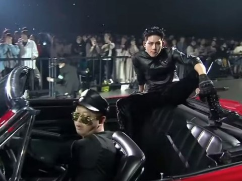 Jooheon drives into Monsta X MAMA 2019 performance in open-top car and it's a big mood