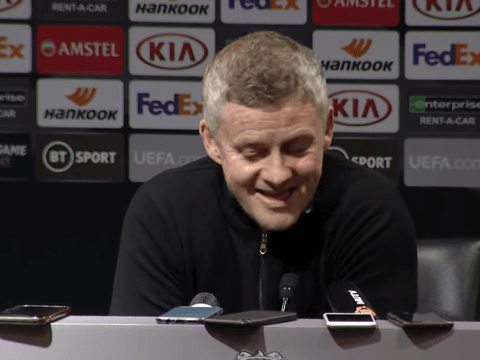 Ole Gunnar Solskjaer shuts down question over Mason Greenwood's playing time at Manchester United