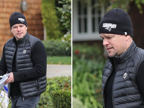 Matt Damon spotted leaving Ben Affleck's house with movie scripts after actor's tense Thanksgiving