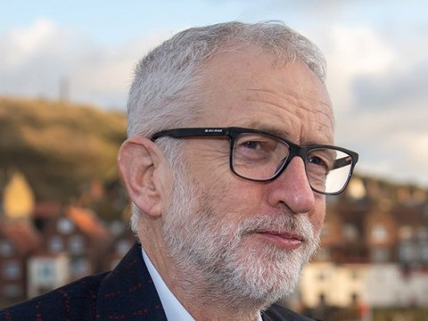Jeremy Corbyn's new suit has 'for the many' sewn into red pinstripes