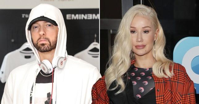 Eminem and Iggy Azalea
