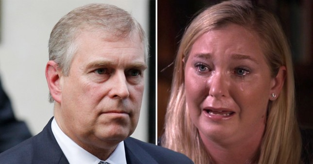 Virginia Giuffre, 35, opened up about her alleged encounter with Prince Andrew (Picture: AP/ BBC)